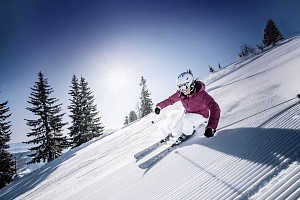 Let loose in the Kitzbüheler Alpen Ski Areas
