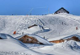 Almenwelt Lofer_Almen- Skipiste_Winter_3