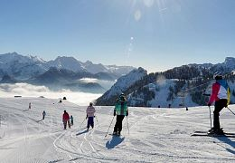 Almenwelt Lofer-skifahren-Panorama_Winter_2